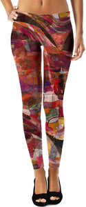 Leggings Abstract Collection shapes