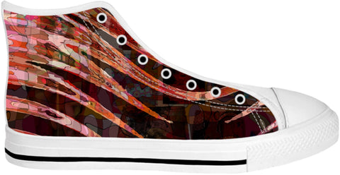High Top Shoes Abstract Collection32
