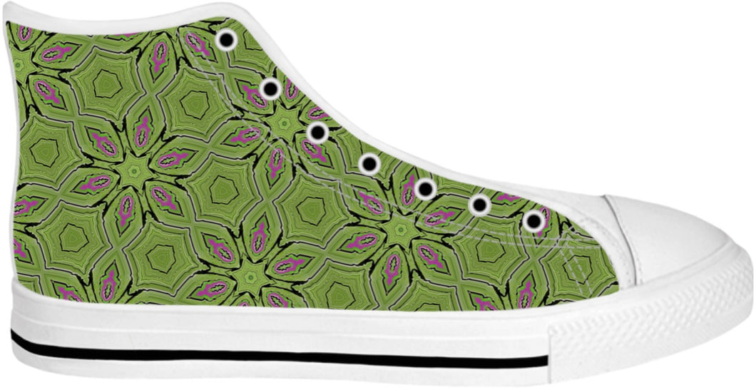High Top Shoes Pattern Collection237