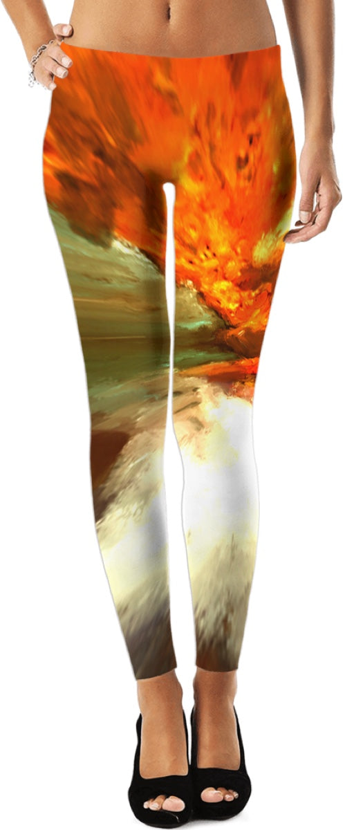 Leggings Abstract Pattern204