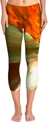 Yoga pants Abstract Pattern