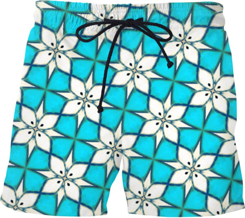 Swim shorts Pattern Collection blue581
