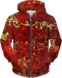 Hoodie Abstract