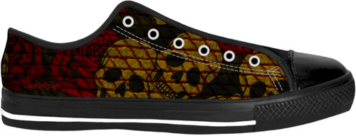 Low top shoes Skull