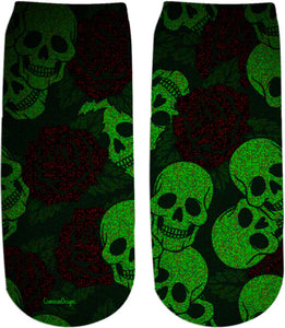 Ankle socks Skull
