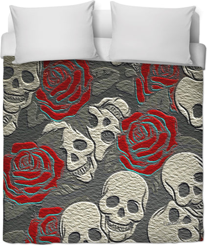 Duvet covers Skull4