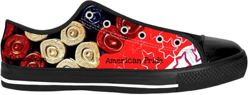 Low top shoes Patriotic