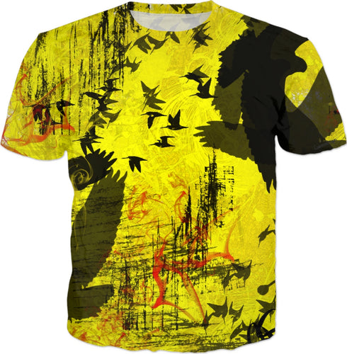 T-shirt Abstract bird Collection