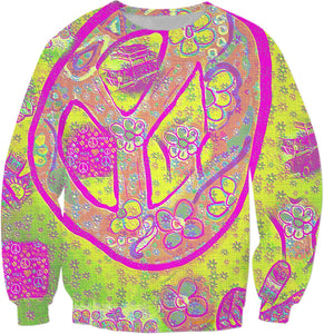 Sweatshirts Peace Sign Collection