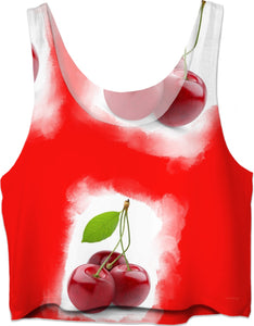 Crop Top Cherry