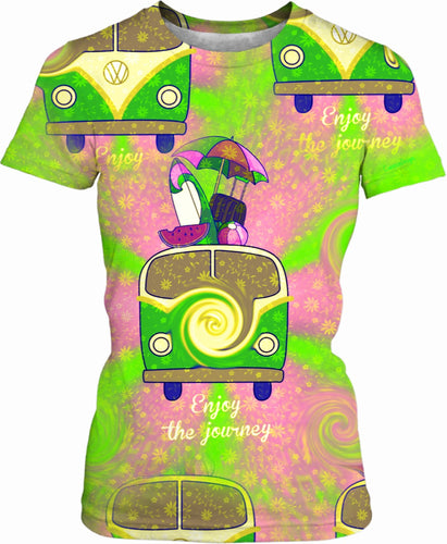 Women's T-shirts Vw Print