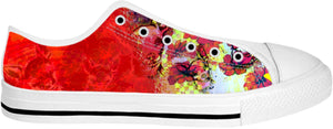 Low top shoes Cha Print