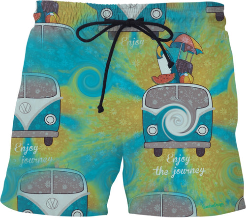 Vw Print Swimming Shorts