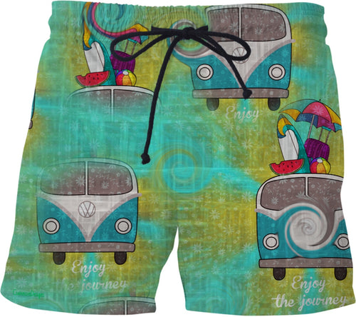 Vw Print Swimming Shorts58