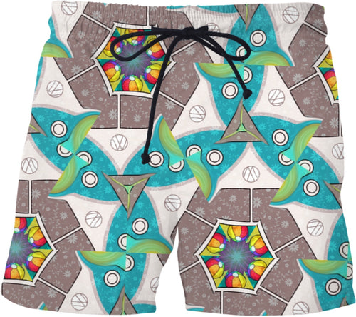 Vw Print Swimming Shorts59