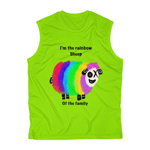 Men's Sleeveless Performance Tee rainbow