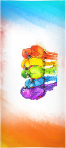 Beach Towels Birds Print