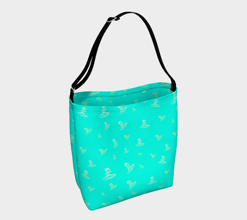 Day tote Surfer teal
