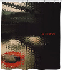 Shower Curtain Red Room Dare Collection 1f