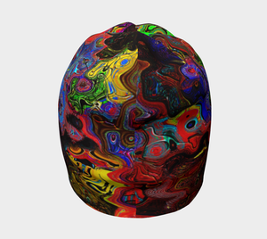 Beanie Abstract multi color beanie