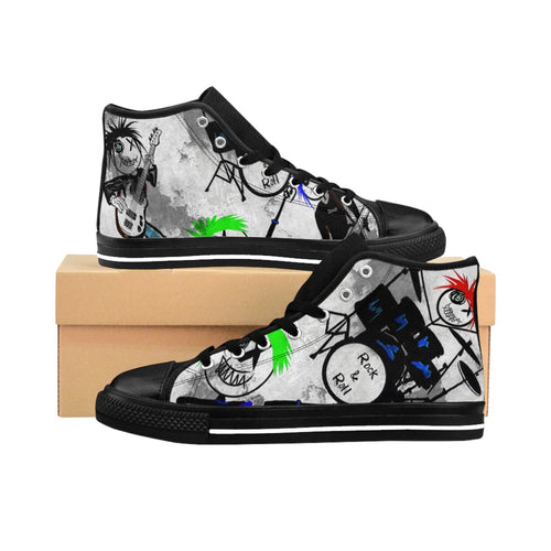 Men's High-top Sneakers DLF band