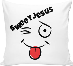 Couch Pillows Sweet Jesus 1