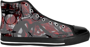 High Top Shoes Drummers Licks Rhythm Wear 5
