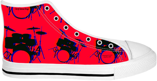 High Top Shoes Drummers Licks Rhythm Wear 6