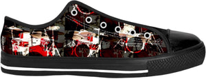 Low Top Shoes Drummers Licks Rhythm Wear 7