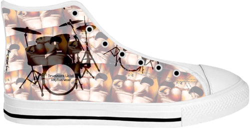 High Top Shoes Drummers Licks Rhythm Wear 8