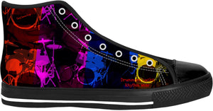 High Top Shoes Drummers Licks Rhythm Wear 10