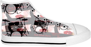 High Top Shoes Drummers Licks Rhythm Wear 11