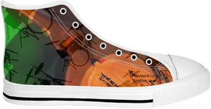 High Top Shoes Drummers Licks Rhythm Wear 13