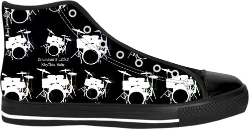 High Top Shoes Drummers Licks Rhythm Wear 17