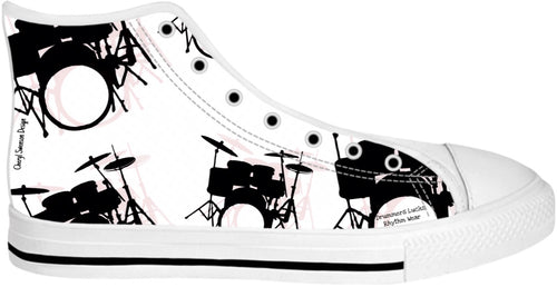 High Top Shoes Drummers Licks Rhythm Wear 18