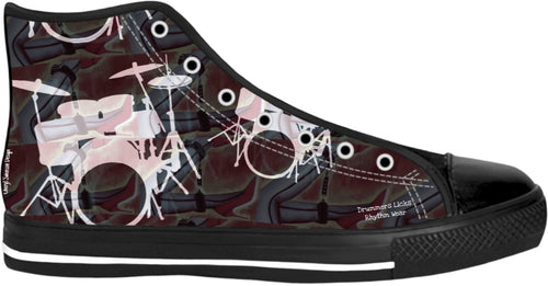 High Top Shoes Drummers Licks Rhythm Wear 19