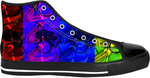 High Top Shoes Drummers Licks Rhythm Wear 21