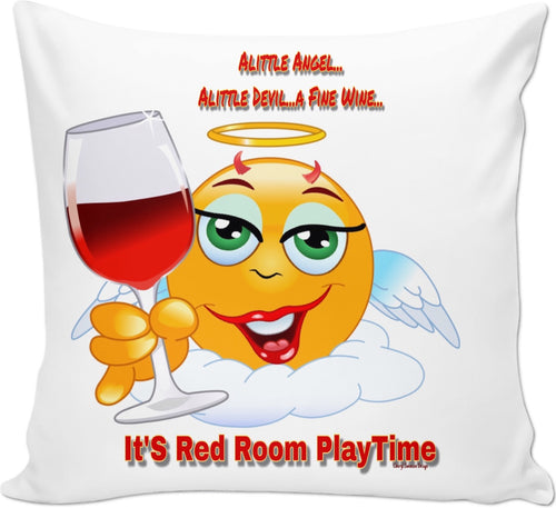 Couch Pillows Red Room PlayTime