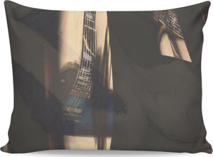 Pillow Cases Guitar And Nude 1