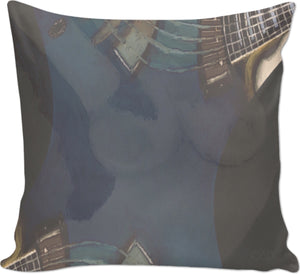 Couch Pillows Guitar And Nude 3
