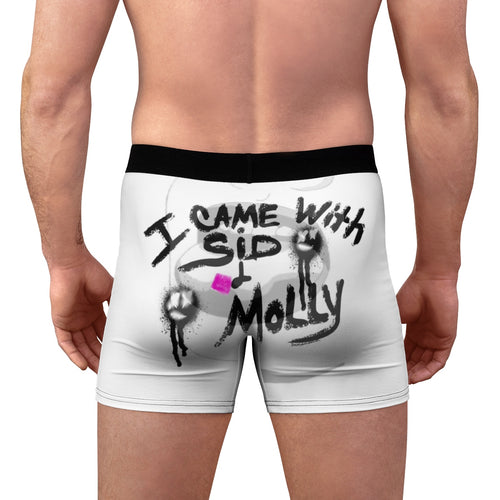 Men's Boxer Briefs techno dj