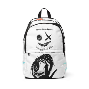 Unisex Fabric Backpack high above the clouds dlf