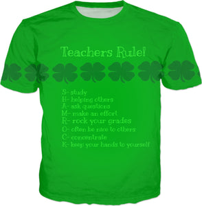 T-shirts Teachers Shamrock