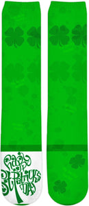 Knee High Socks Shamrock Lucky 1