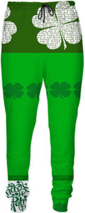 Joggers Teachers Theme Shamrock2