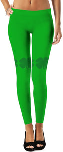 Leggings Teacher Theme Shamrock 5