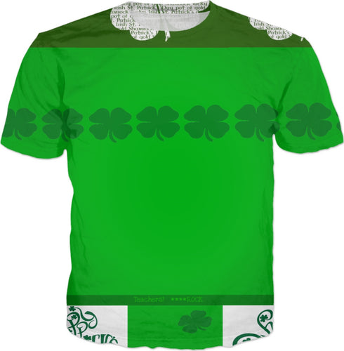 T-shirts Teachers Shamrock4