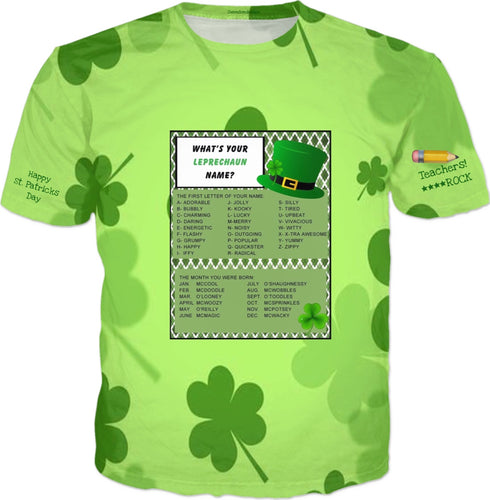 T-shirts Teachers Shamrock Had 1