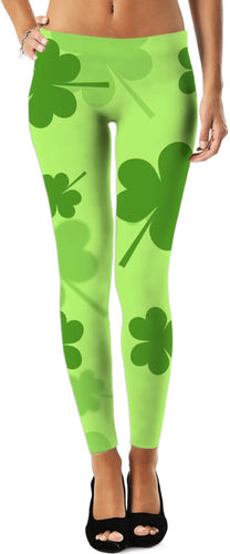 Leggings Teachers Theme Clover