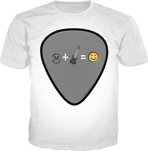 T-shirts Guitar Pick1